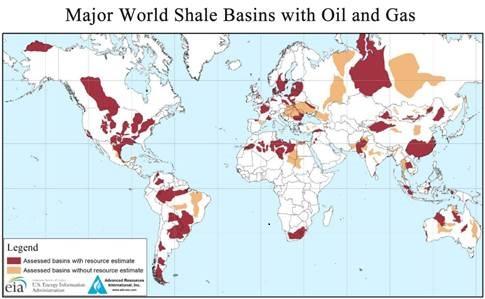 Shale Basins