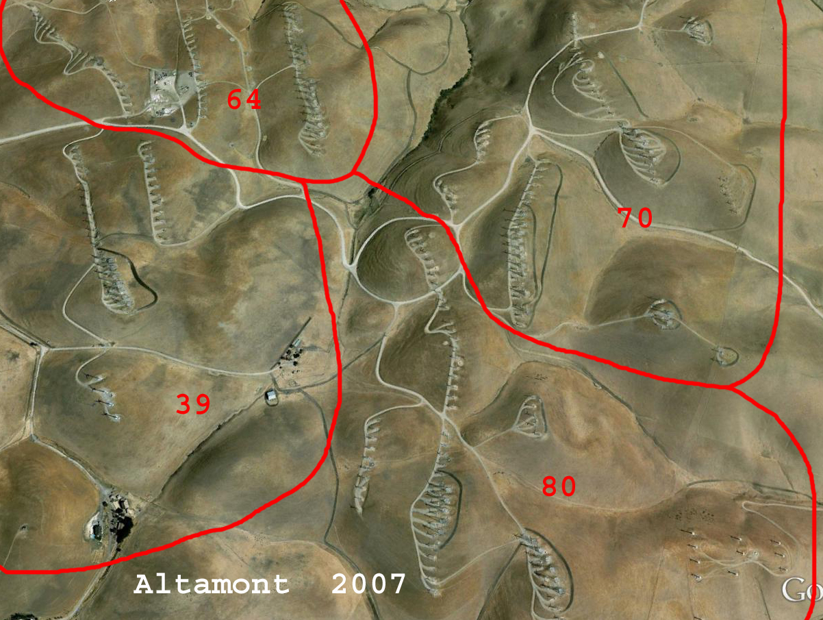 Altamont 2007 Google Earth