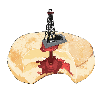 New Oil & Gas Drilling: A Schematic ('Time for Tiramisu')
